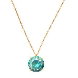 KATE SPADE • Shine On Crystal Pendant Necklace